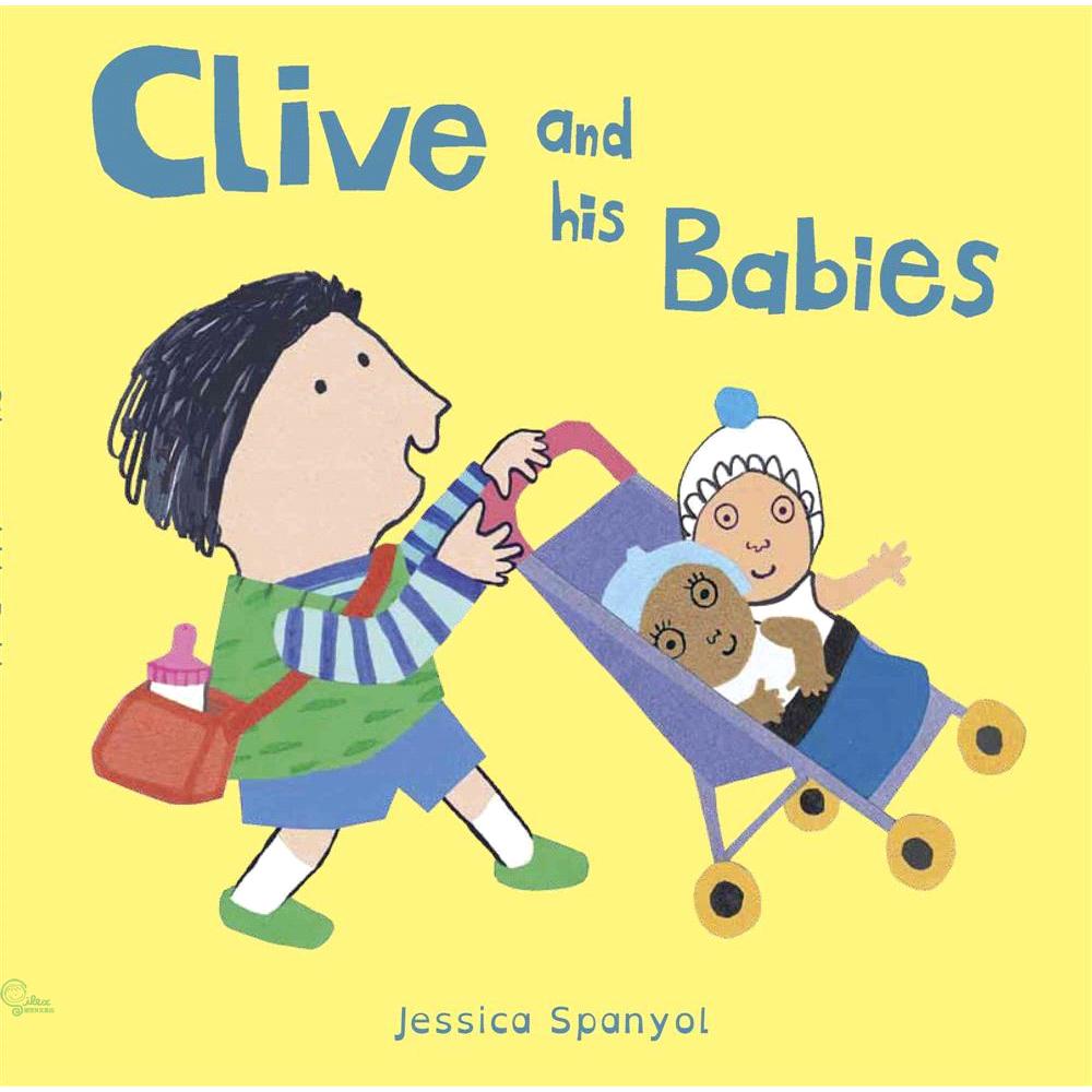 書名:Clive and His Babies(硬頁書)系列:All About Clive定價:274元ISBN13:9781846438820出版社:UK Childs Play作者:Jessic
