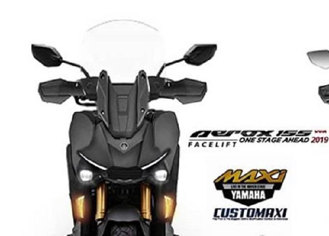 Yamaha Aerox yang jadi lawan tangguh Honda ADV 150