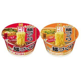 マルちゃん 麺づくり 鶏ガラ醤油/合わせ味噌