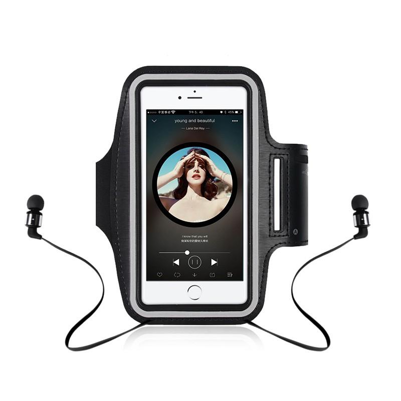 iPhone OPPO 小米 三星 華為 華碩手機臂包運動跑步裝備 手腕包手機袋通用運動套 戶外健身手機臂帶 運動 聽歌