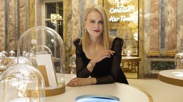 妮可‧基嫚蒞臨聖彼得堡為歐米茄「她的美麗時光」展覽揭幕