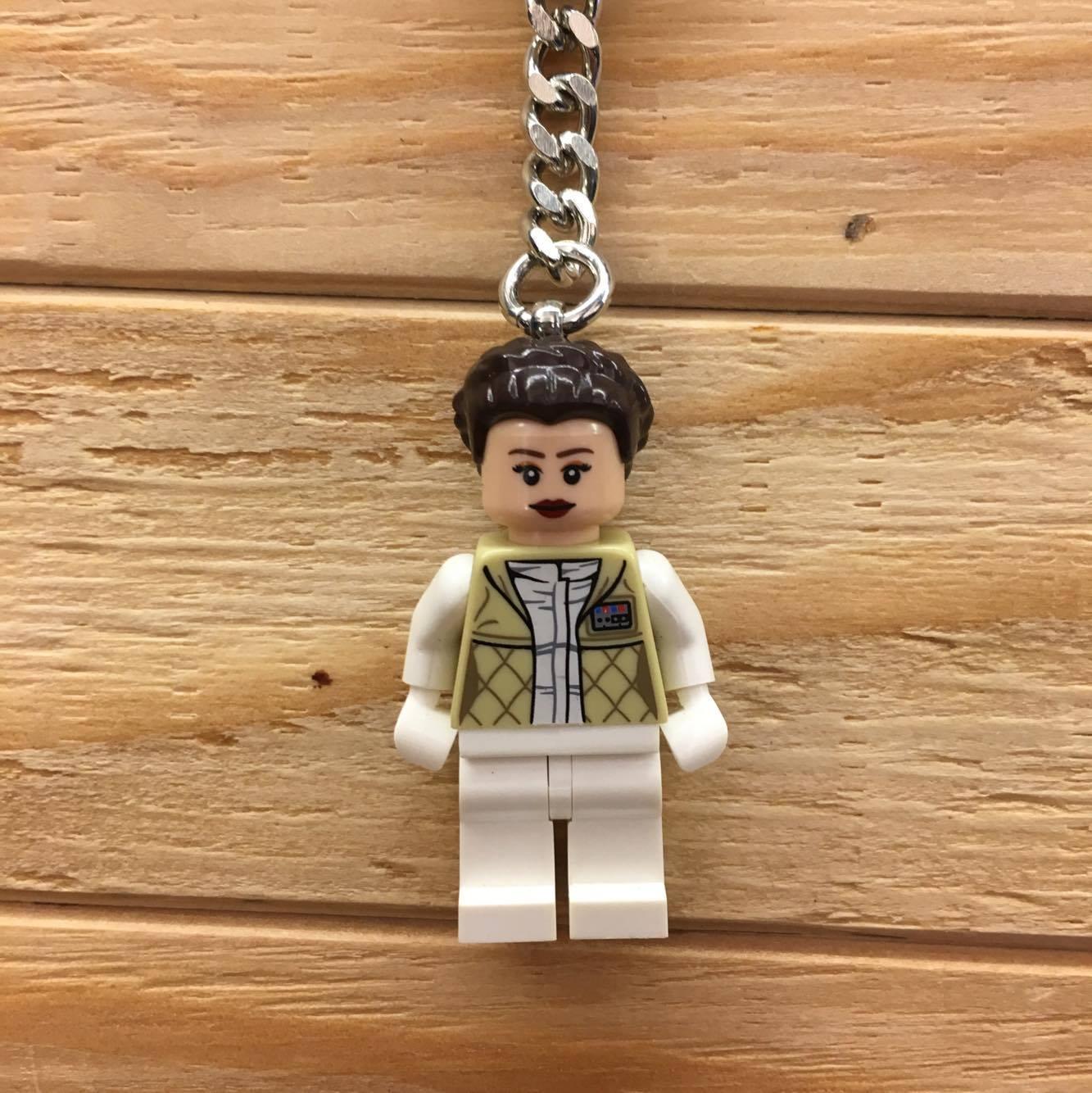 BEETLE LEGO STAR WARS PRINCESS LEIA 星際大戰 莉亞公主 樂高 積木 鑰匙圈 玩具
