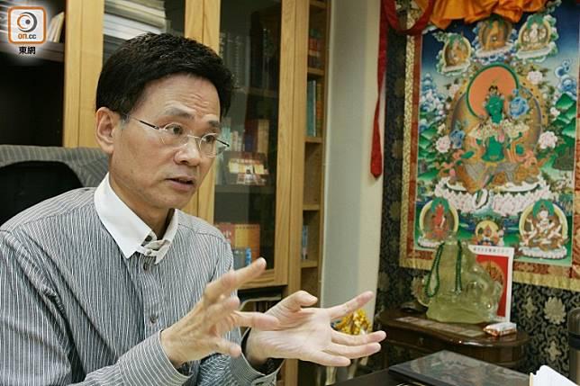 周漢明表示,地震會影響國運,香港發生地震,對本港的運程會有震盪。