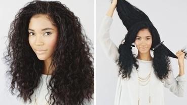 自然捲or燙髮女孩必看 17招捲髮變化髮型DIY!!