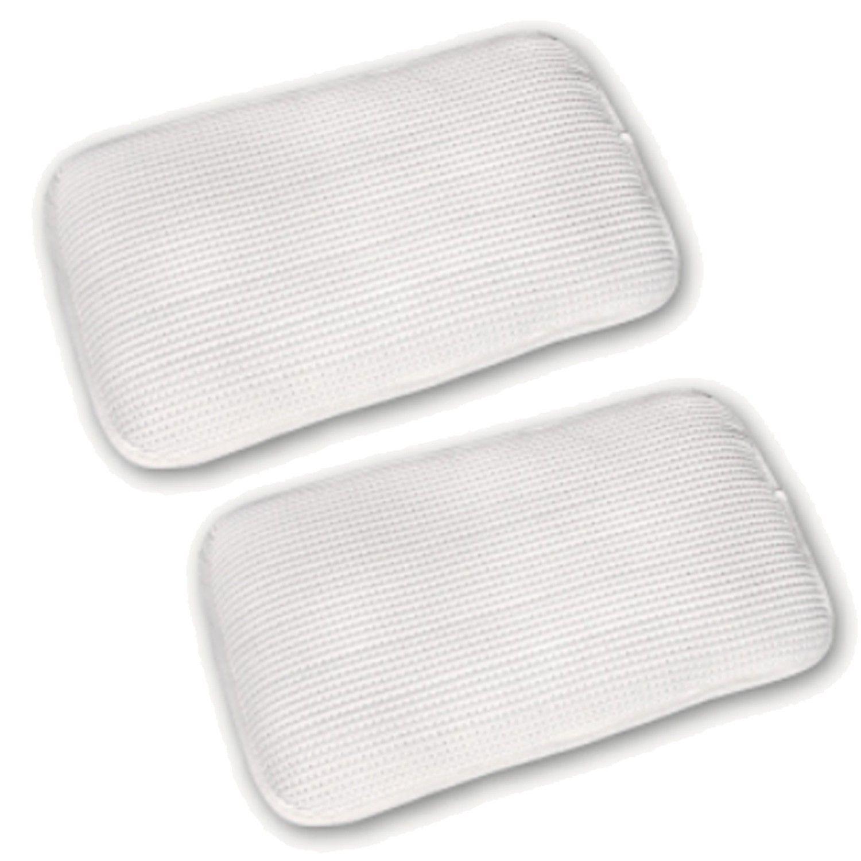 舒福家居 iSuFu - 3D Airmesh 超柔幼童透氣可水洗枕-超值2入組-白色+白色