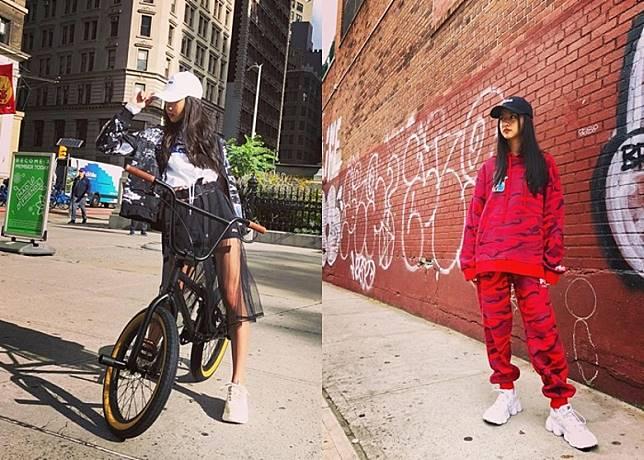 光希轉攻內地市場,為做內地代言人的品牌赴紐約拍廣告。