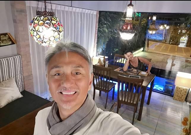 吳岱融即刻喺檳城租咗個別墅。