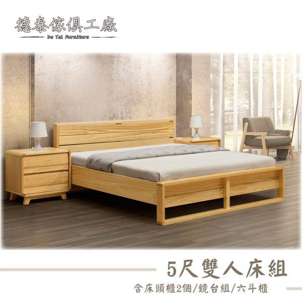 雙人床:寬160 x 長196 x 高82 (cm) 床頭櫃:寬40 x 深45 x高52 (cm)