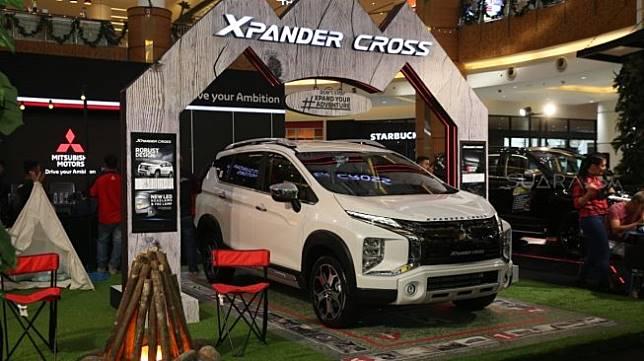 Kampanye #AyoGasTerus bersama Mitsubishi Xpander Cross di Jakarta, Sabtu (7/12/2019). [Suara.com/Manuel Jeghesta]