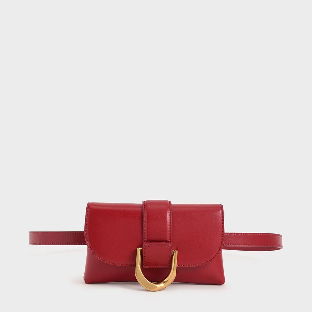 D字釦兩用腰包