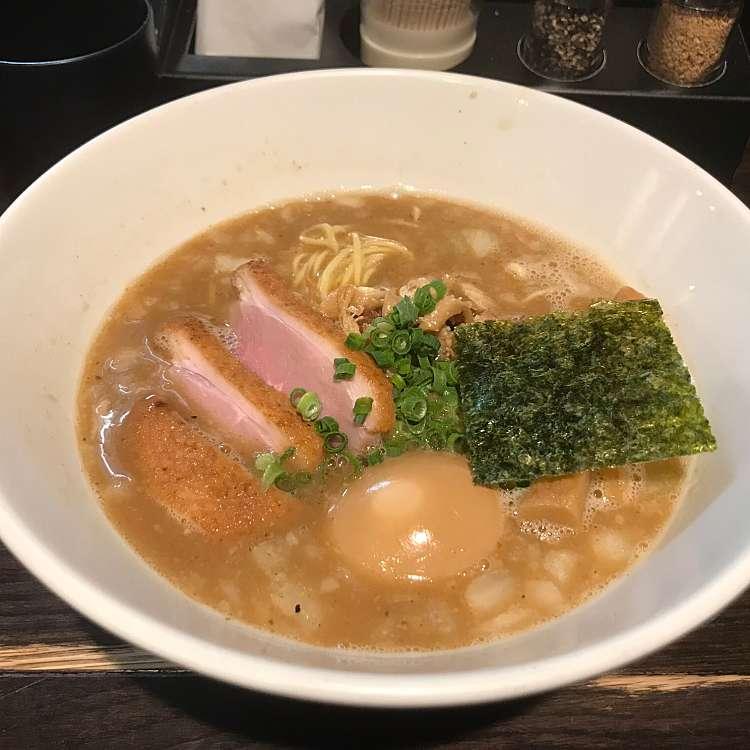 ユーザーが投稿した俺の掛け節そばの写真 - 実際訪問したユーザーが直接撮影して投稿した高田馬場ラーメン・つけ麺俺の空の写真