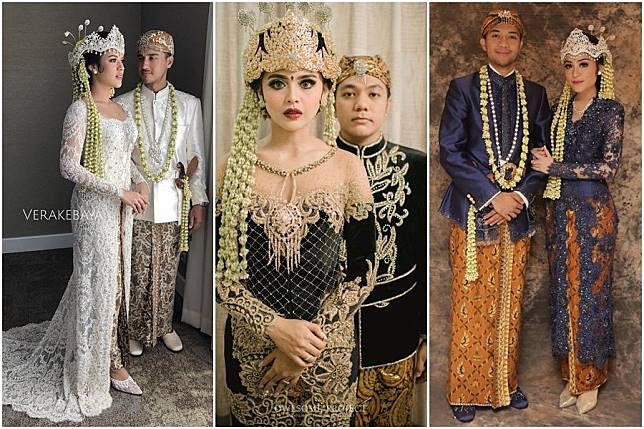 Ningrat Mewah 15 Kebaya Cantik Untuk Pernikahan Adat Sunda