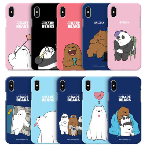 We Bare Bears 熊熊遇見你 TPU 軟殼 手機殼│iPhone 6 6S 7 8 Plus X XS MAX XR S7 Edge S8 S9 Note5 Note8 Note9│z8422