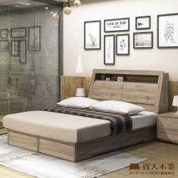 ◎堅固耐用的內在本質|◎呈現傢俱的美感|◎百分百台灣製商品品牌:日本直人居家規格:雙人加大6尺類型:組合組合說明:床頭+床底尺寸(公分):請參照商品介紹的尺寸圖風格:日式主材質:木質顏色:黃色系組裝方