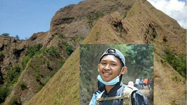Thoriq Rizki Maulidan pendaki yang dilaporkan hilang di gunung Piramid (Instagram @pendakilawas)