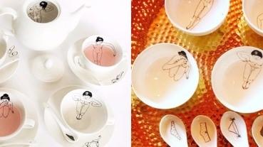 唉呦~好害羞的下午茶,裸女茶具組讓午茶時光春色無邊