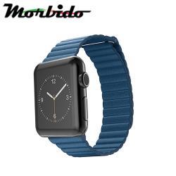 Morbido蒙彼多 Apple Watch 40mm皮製錶帶 矢車菊藍