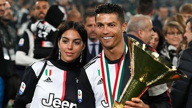Euforia Pemain Juventus Saat Raih Scudetto