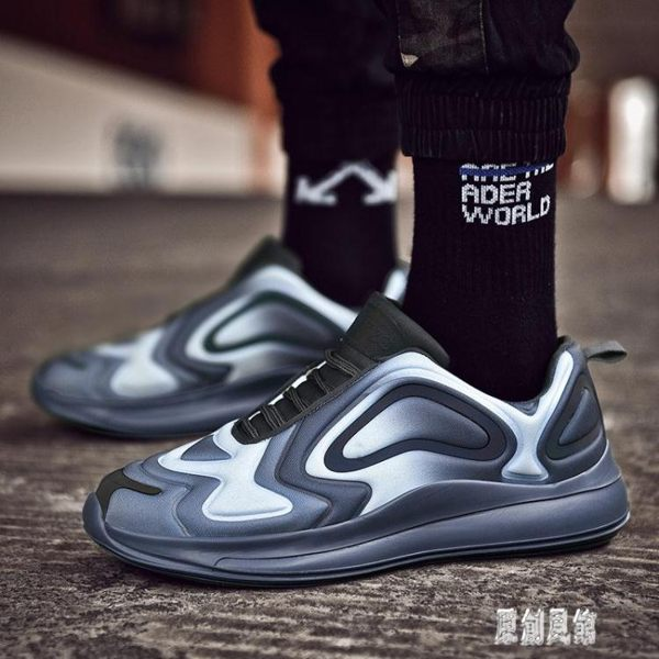 2019夏季新款男運動鞋球鞋男網面透氣跑步鞋休閒鞋男士鞋 LR5873【原創風館】