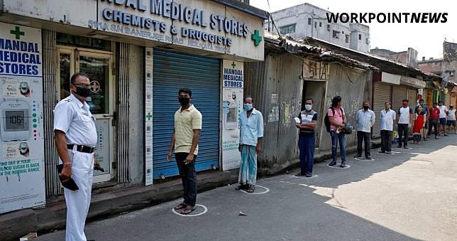 ชายอินเดียป่วยโควิด-19 ไม่ยอมกักตัวก่อนไปร่วมงานเทศกาล ทางการสั่งกักตัว ปปช. 4 หมื่นคน