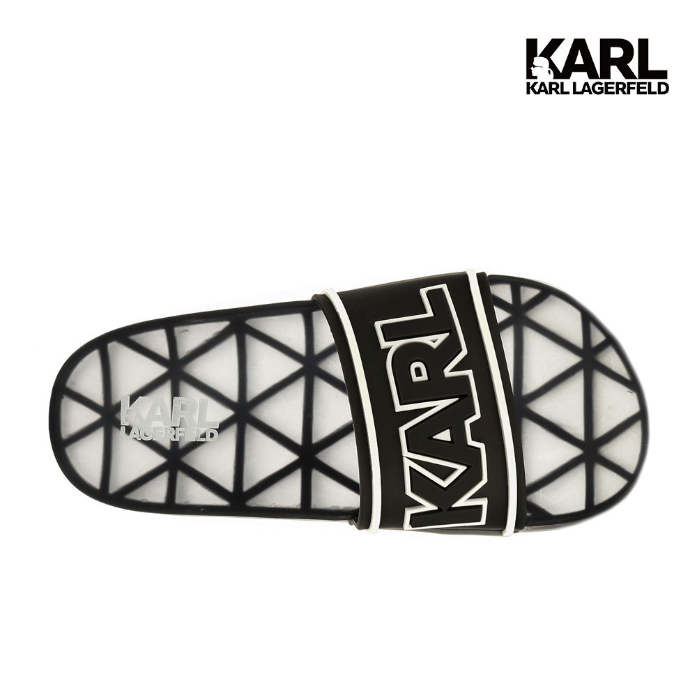 限量夏日必備防水拖鞋karl lagerfeld經典品牌開放門市自取服務(※門市自取商品請於現場取貨確認無誤,無網路七天鑑賞期之規定)