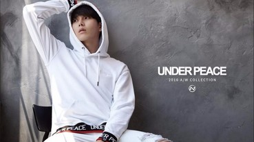 UNDER PEACE 2016 A/W new LOOKBOOK 搶先觀看!