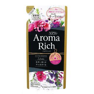ライオン ソフランアロマリッチジュリエット スイートフローラルアロマの香り つめ替 400ml
