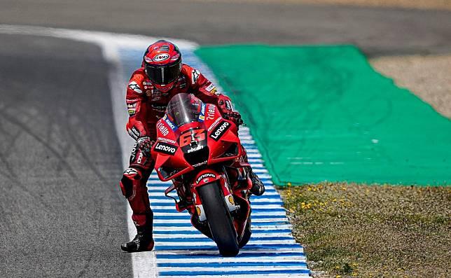 Francesco Bagnaia puncaki klasemen sementara MotoGP 2021 (foto: ducaticorse)