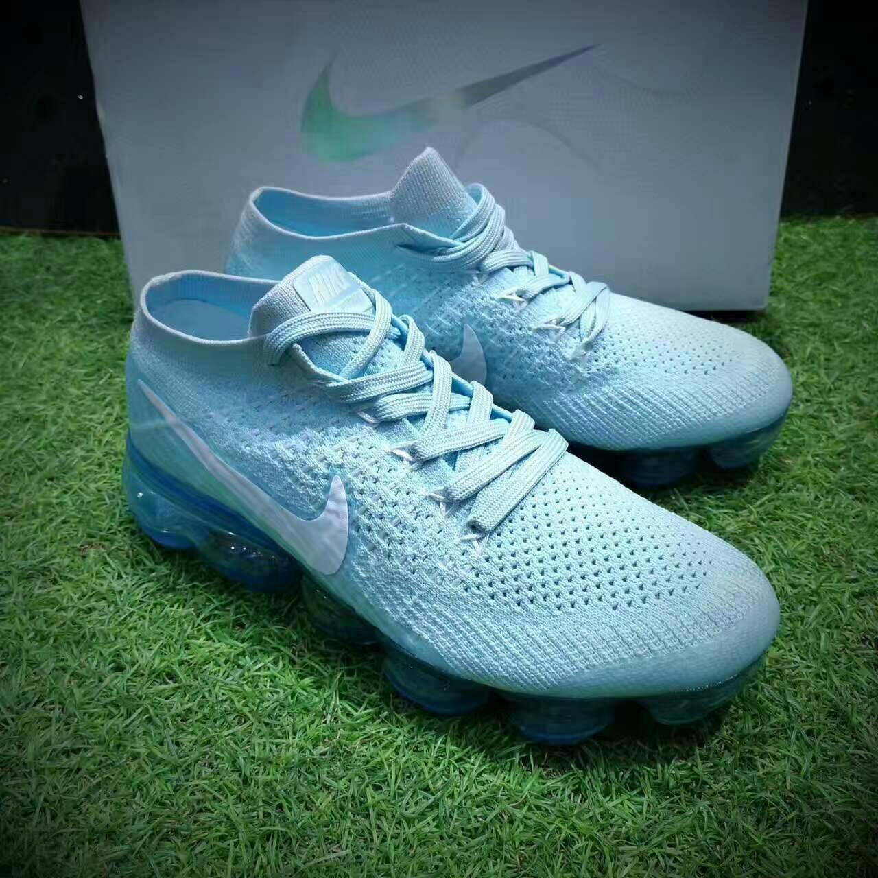 Nike Air Vapor Flyknit 2018 蒸汽大氣墊慢跑鞋「Glacier Blue」 情侶款