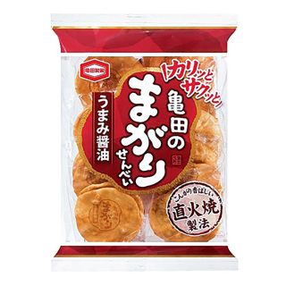 亀田製菓 亀田のまがりせんべい 18枚