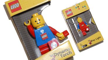 耶誕特搜 / Paradise / LEGO LED 手搖手電筒 停電我不怕!