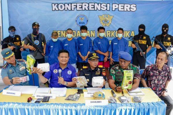 Bea Cukai Tarakan Gagalkan Penyelundupan 2 Kg Narkotika