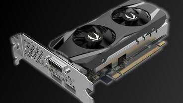 果然有 Low-Profile 半高卡,Zotac 推出 GAMING GeForce GTX 1650 窄版顯示卡