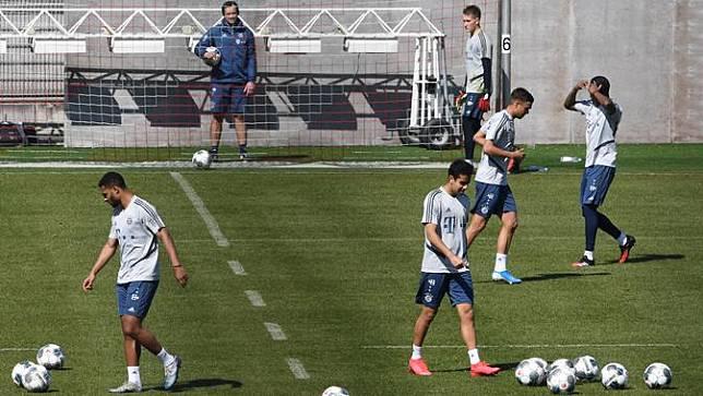 Bayern Munchen Kembali Gelar Latihan di Tengah Pandemi Corona