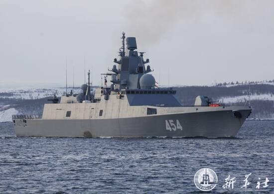 รัสเซียส่งเรือรบทันสมัย ออกทดสอบขีปนาวุธใหม่ในทะเลขาว