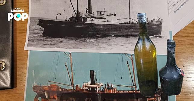กล้าชิมไหม? พบเหล้าคอนยักอายุกว่า 100 ปีในเรืออับปางจากสงครามโลกครั้งที่ 1