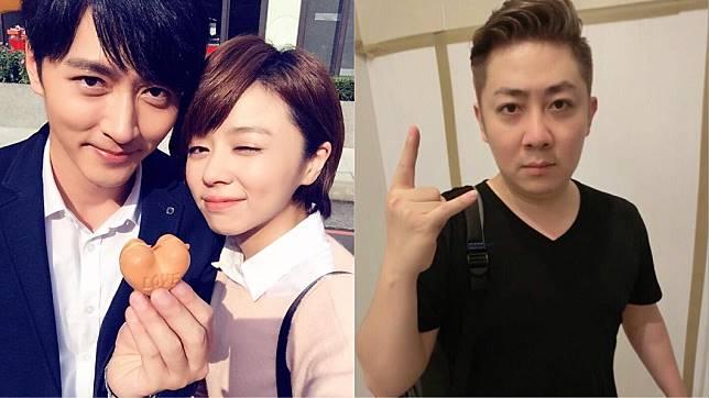 王瞳馬俊麟(左圖)、艾成(右圖)。圖/翻攝自馬俊麟、艾成臉書