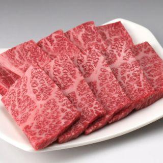 牛肩ロース焼肉用(交雑種)