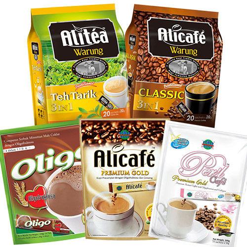 POWER ROOT即溶咖啡(5款口味可選: 人參咖啡、膠原蛋白咖啡、即溶咖啡、可可麥芽、奶茶) 日華好物