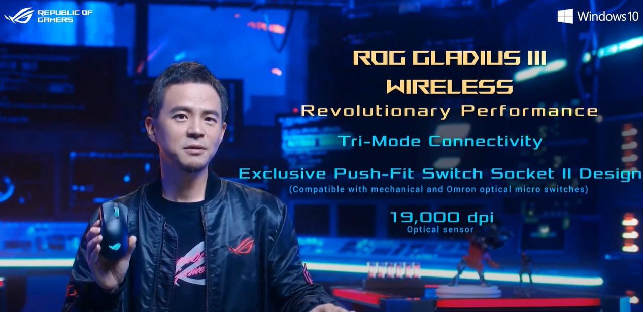 ROG 在 CES 推出全球首款 32 吋 HDMI 2.1 電競螢幕,鍵鼠升級改版一次到位