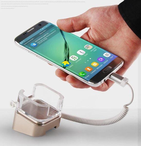 手機防盜器展示支架華為體驗櫃台真機平板電腦ipad充電報警