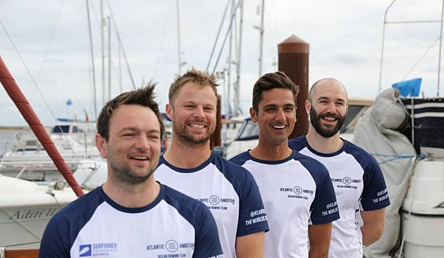Atlantic challenge: rowers arrive in Antigua after 39 days at sea, encountering their own 'Armageddon'