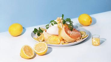 酸甜檸檬滋味在FLIPPER'S!FLIPPER'S檸檬乳酪舒芙蕾,搭北海道牛奶麻糬冰淇淋超過癮