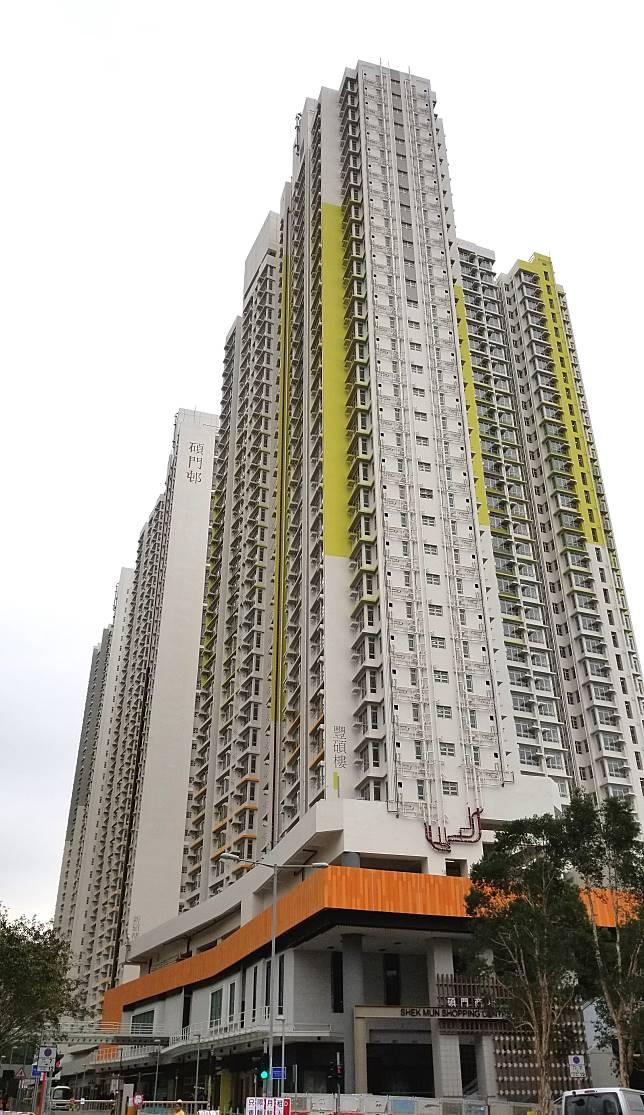 碩門邨第二期共有4座住宅大廈,合共提供約3000個單位。