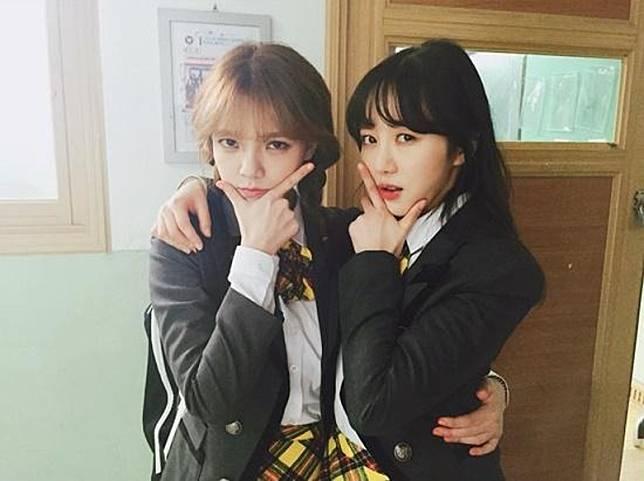 珉娥(右)爆智珉帶男人上宿舍「做運動」。