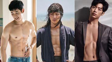 《綠豆傳》張東尹女裝美翻,但有腹肌好違和!7位「天使臉孔魔鬼身材」的男星,丁海寅身材好狼系