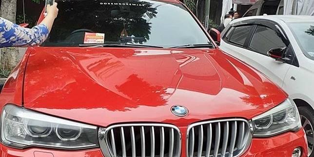 BMW X4 yang menunggak pajak (Merdeka.com)