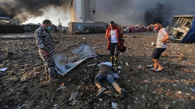 Ledakan Dahsyat di Beirut Kekuatannya Setara Gempa 3,5 SR