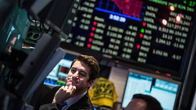 美股盤後─科技金融股受壓 道指跌171點