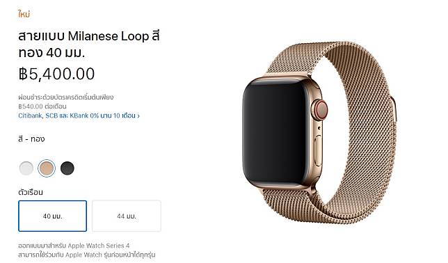 Milanese Loop For Apple Watch Series 4 Apple Store Online Th Img 1